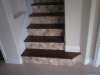 steps with tiled riser