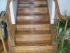 Tigerwood stairs