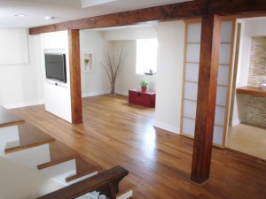 Try Engineered Wood in Damp Areas